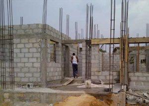 Construction work 6 bedromm Duplex 6